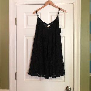 Black Lace Umgee Dress